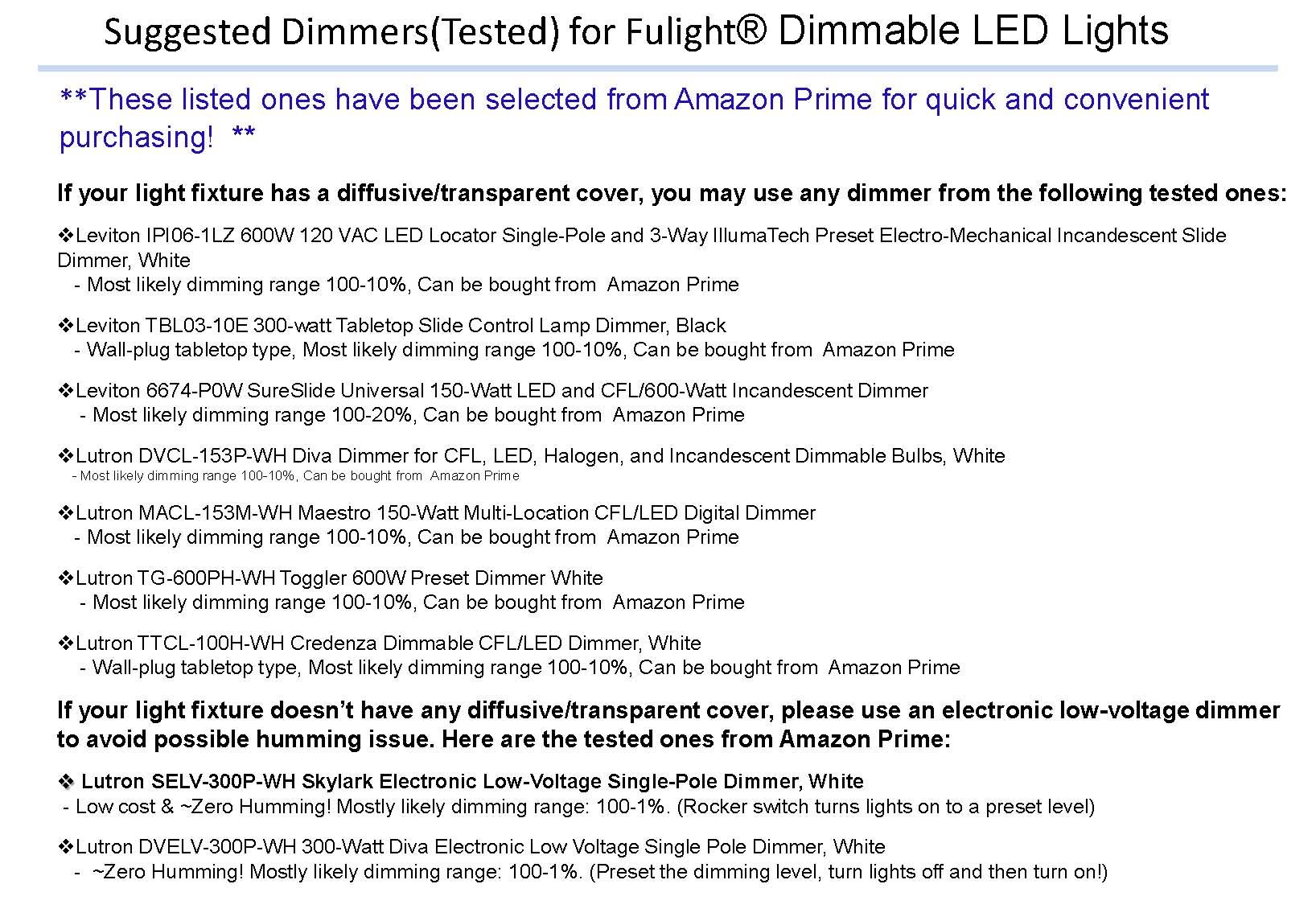 Fulight True-Color ¤ LED F15T8 Tube Light (Dimmable) - 18'' (17-3/4'' Actual Length) 1.5FT 7W, Cool White 4000K, Double-End Powered, Frosted Cover, Works from 110-120VAC by Fulight (Image #3)