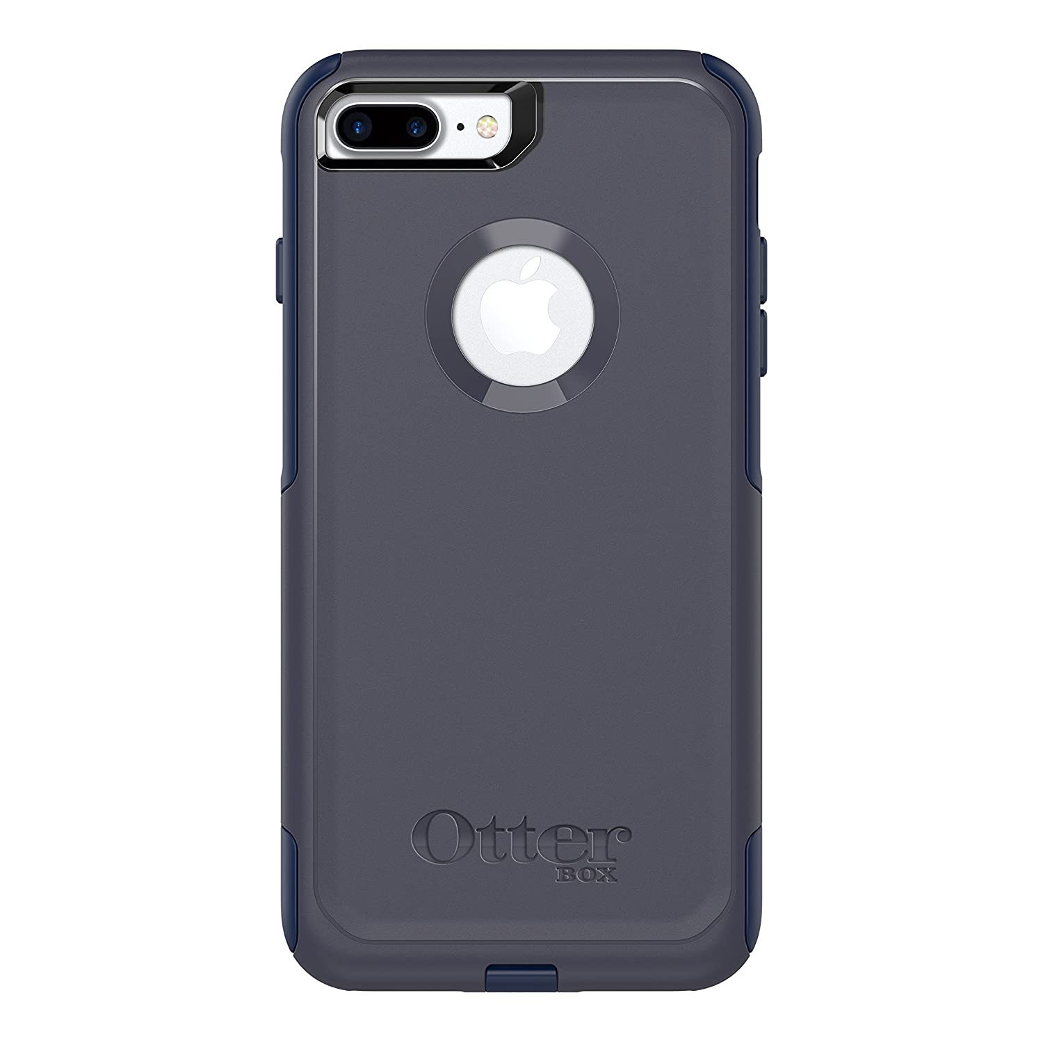 OtterBox COMMUTER SERIES Case foriPhone 8 Plus & iPhone 7 Plus (ONLY) - Retail Packaging - INDIGO WAY (MARITIME BLUE/ADMIRAL BLUE)