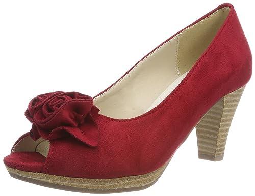 Conti Mujer Punta De Zapatos 0733109 Con Para Tacón Abierta Andrea fZx4w4