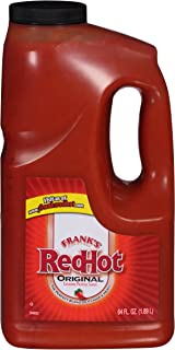 product image for Frank's RedHot Original Hot Wing Sauce, 64 oz, Large Size