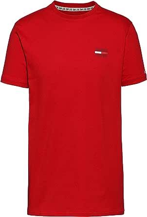 Tommy Hilfiger TJM Chest Logo tee Camisa Deportiva para Hombre