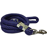 Sollar's Heavy Dog Leash Dog Lead Rope Cord, Blue/Black, Extra Large