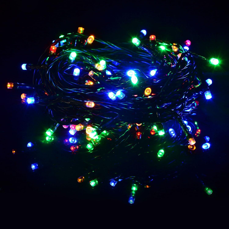 Nipach GmbH 40 LED Lichterkette warm wei/ß f/ür Innen Aussen gr/ünes Kabel Trafo 13,9 Meter Weihnachtsbeleuchtung Weihnachtsdeko Partydeko Partylichter