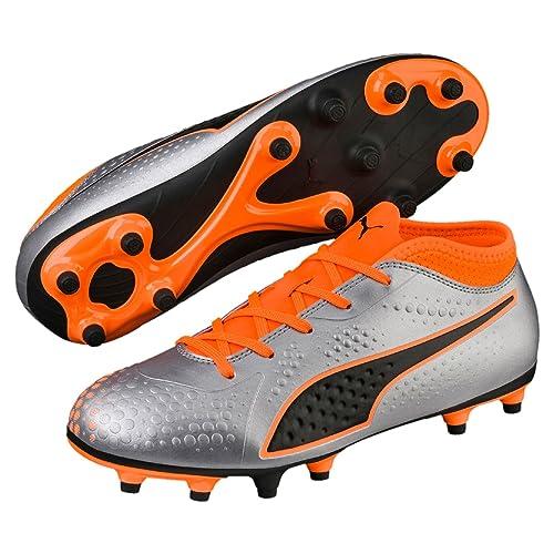 Botas de Fútbol PUMA One 4 Syn FG Junior, Talla 32.5: Amazon.es: Zapatos y complementos