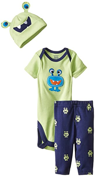 Amazon.com: Gerber Baby-Boys newborn 3 piezas Boy Sets ...