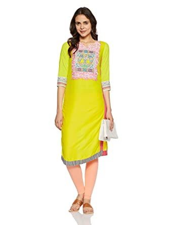 Rangriti Women's Straight Kurta Kurtas & Kurtis at amazon