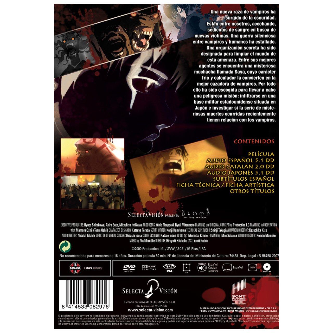 Amazon.com: Blood: The Last Vampire (Import Movie) (European ...