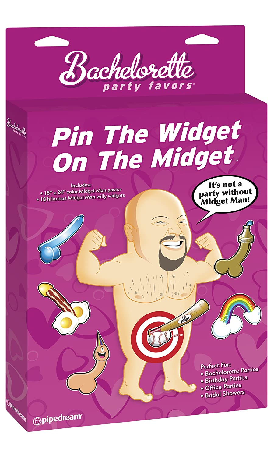 Amazon Bachelorette Party Favors Pin The Widget On Midget Kitchen Dining