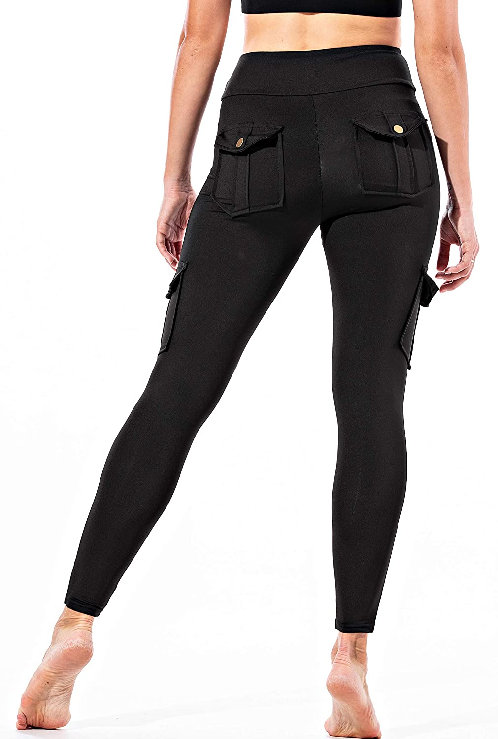 High Waisted Pants for Women OUT /& ABOUT Lexi Cargo Pants for Women Women/'s Casual Leggings Casual Pants with Pockets