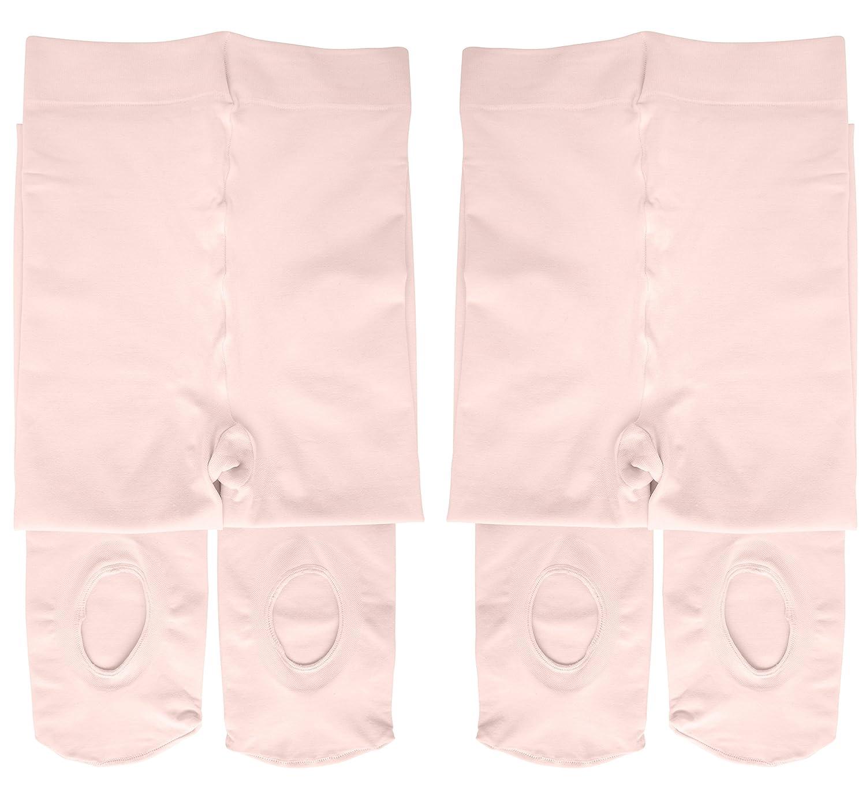 週間売れ筋 Dancina Pink SOCKSHOSIERY ガールズ Women's B07G9GSXB6 Women's S/M|2 Pairs Ballet Dancina Pink 2 Pairs Ballet Pink Women's S/M, 奈良大仏 芳月堂:05e9fe02 --- pathlab.officeporto.com