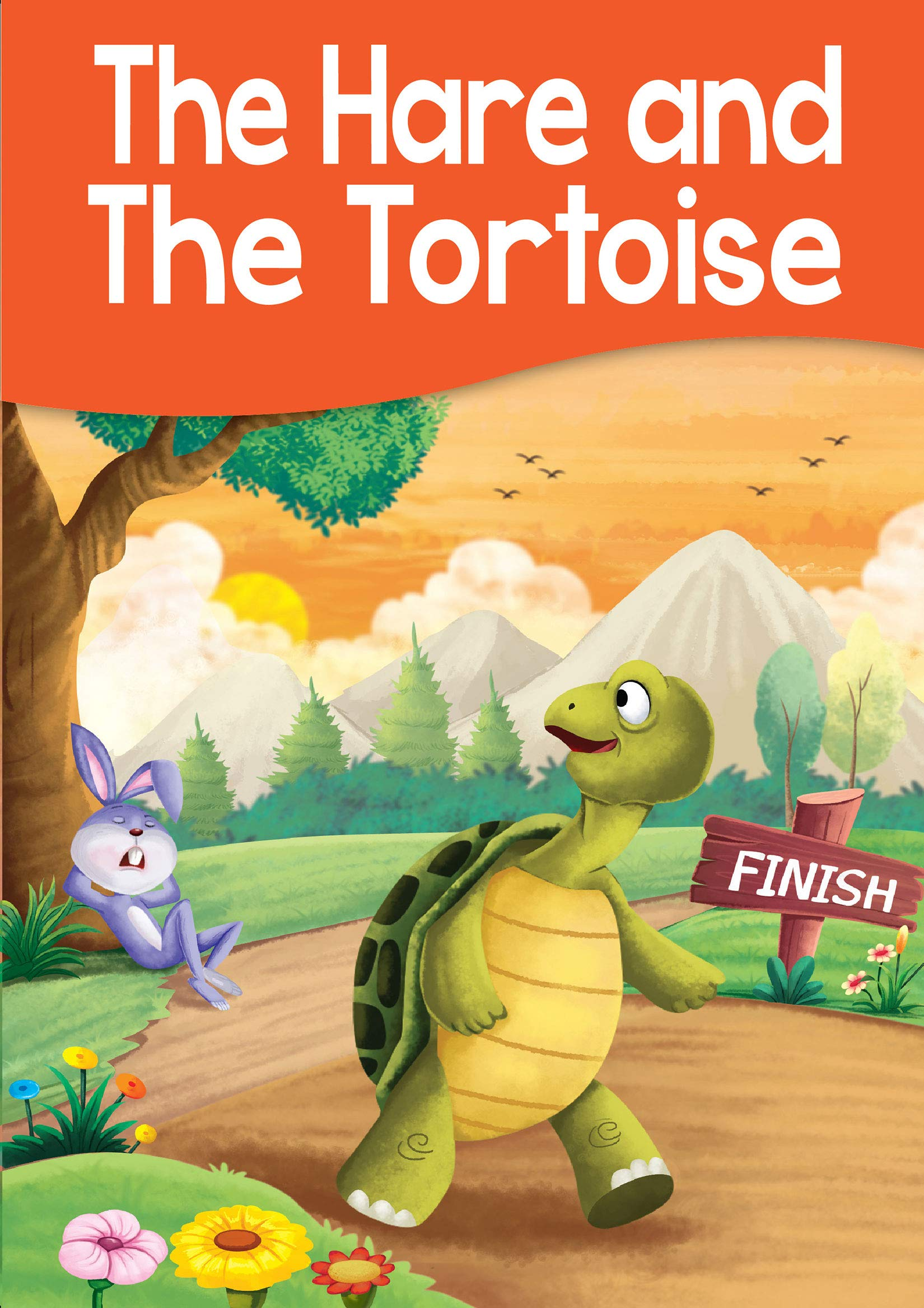 Buy The Hare And The Tortoise Story Book Book Online At Low
