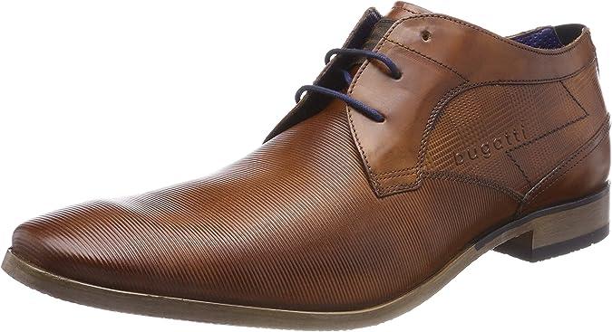 TALLA 40 EU. bugatti 312105071100, Zapatos de Cordones Derby para Hombre