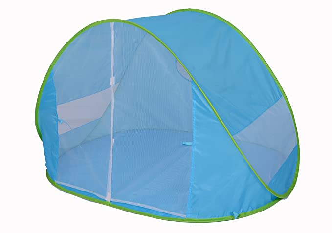 de Tela Muy Ligera campa/ña paravientas Plegable Ideal para Proteger Solar ni/ños y Bebe Tienda Carpa Pop up automontable Kiddus Tienda Carpa Refugio de Playa 100/% Proteccion UV Anti Rayos