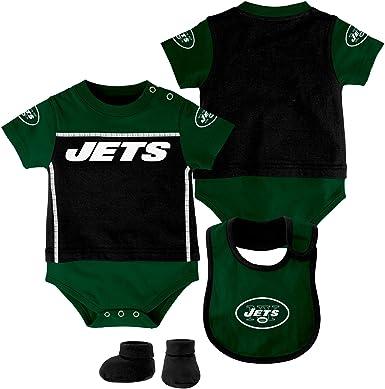 WinCraft NFL New York Jets WCRA1960814 All Pro Baby Bib