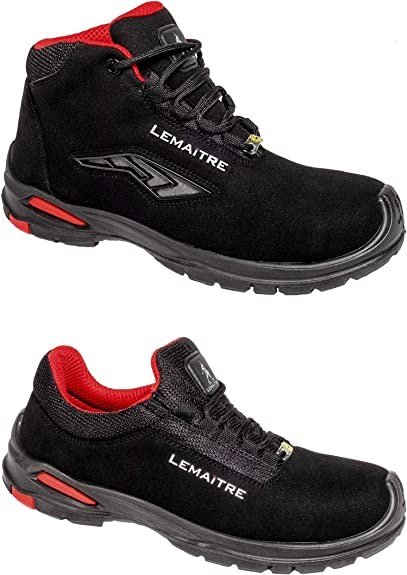 Extremely lightweight S3 safety shoes