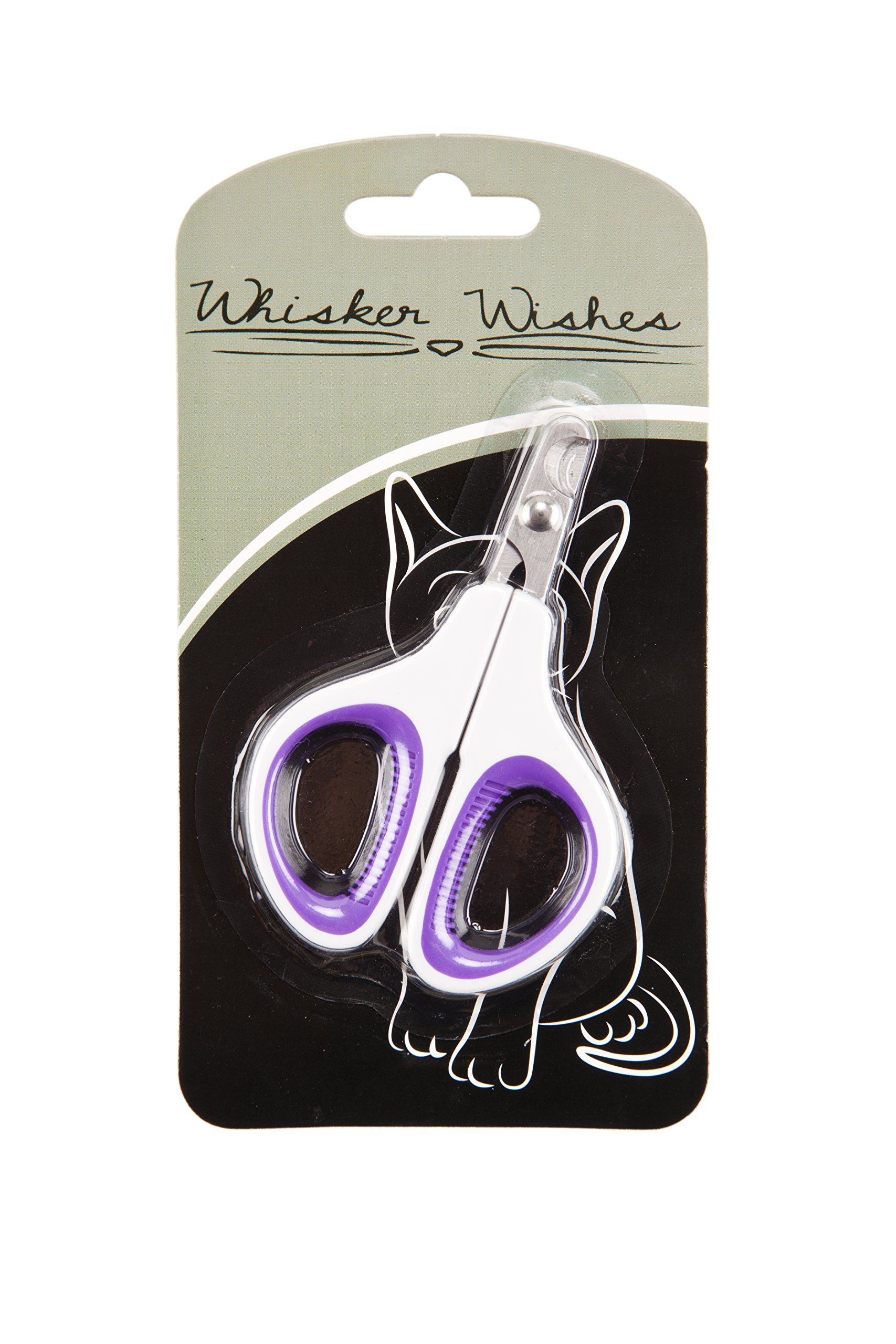Whisker Wishes Veterinarian Grade Pet Clippers Purple