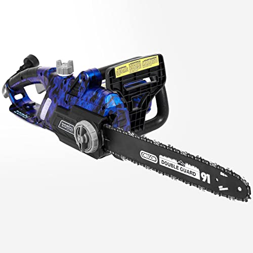 Zombi ZCS12017 16-Inch 120-Volt 13-Amp Corded Electric Chainsaw with Oregon Bar Chain