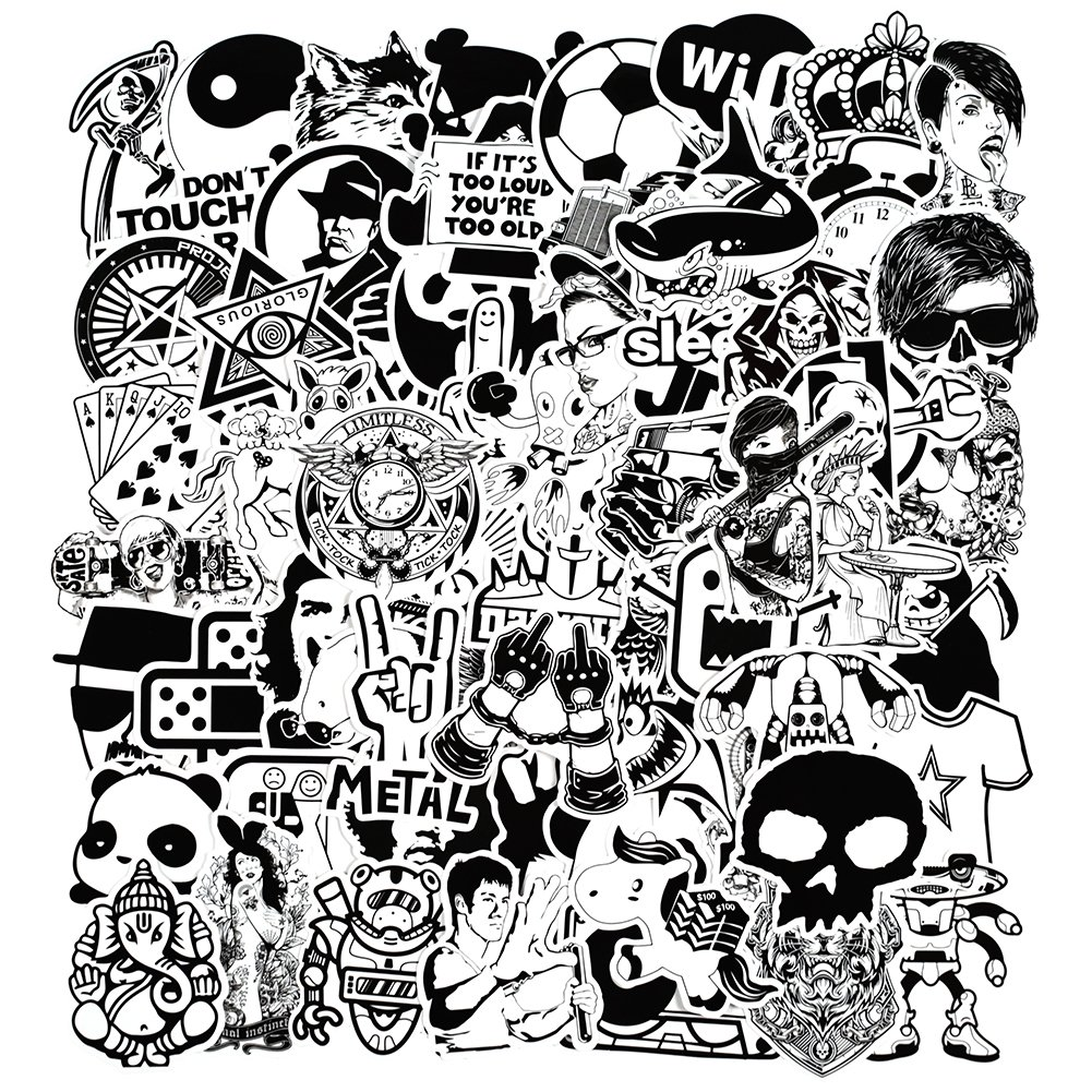 Stickers Calcos 150 un. Surtidos Origen U.S.A. (75SWVQWM)