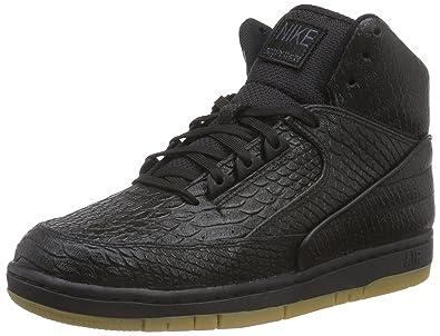 buy online 4b3b7 9ea20 Nike Men s s Air Python PRM Basketball Shoes Schwarz (Black Gum Light Brown ),
