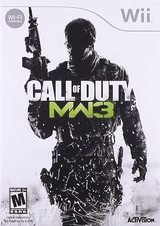 Amazon Com Call Of Duty Modern Warfare 3 Nintendo Wii