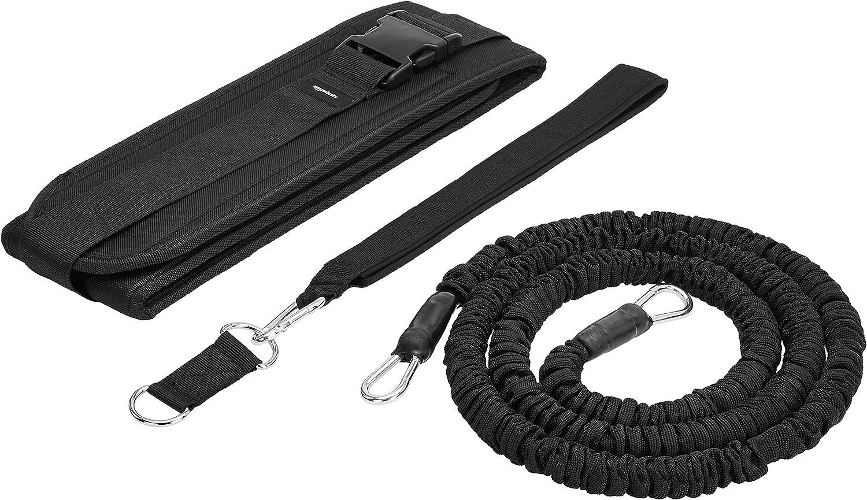 AmazonBasics Dynamic Leg Resistance Exercise Trainer with Waist Belt
