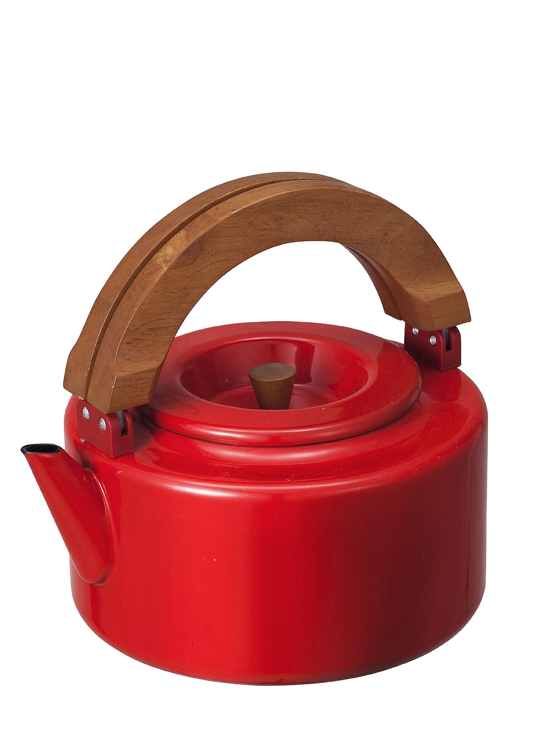 CB JAPAN Nordica Flat Kettle (Red)【Japan Domestic genuine products】