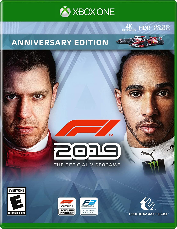 Amazon Com F1 2019 Anniversary Edition Xbox One Video Games
