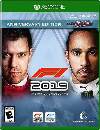 F1 2019 Anniversary Edition for Xbox One [Usa]: Amazon.es: Videojuegos