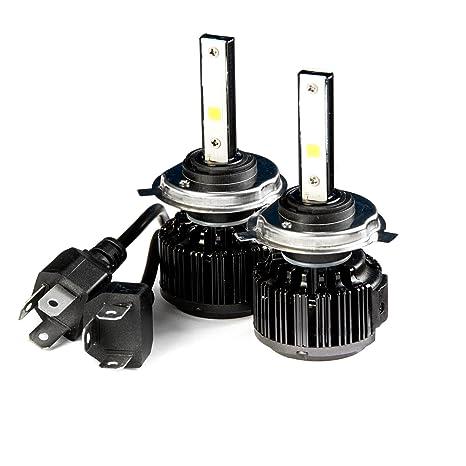 Krator LED H4 Faro Conversión Bombillas 40 W bombillas (9003/hb2 6000 K Blanco