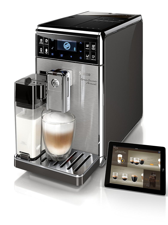 Saeco HD8967/01 - Cafetera automática, color negro