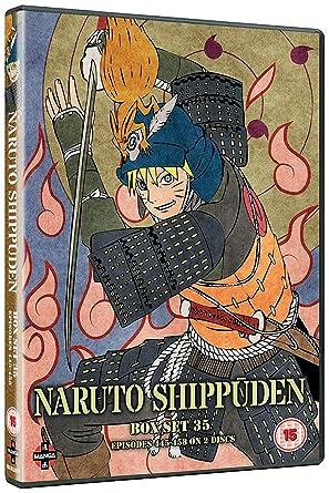 Amazon.com: Naruto Shippuden Box 35 (Episodes 445-458): Cine ...