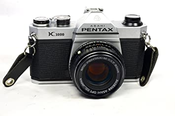 Amazon.com : Pentax Asahi K1000 SLR 35mm Film Camera with Lens ...