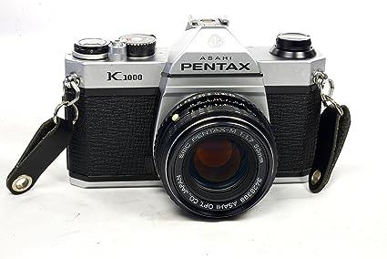 amazon com pentax asahi k1000 slr 35mm film camera with lens combo rh amazon com Pentax 35Mm Camera Pentax Camera ManualsOnline