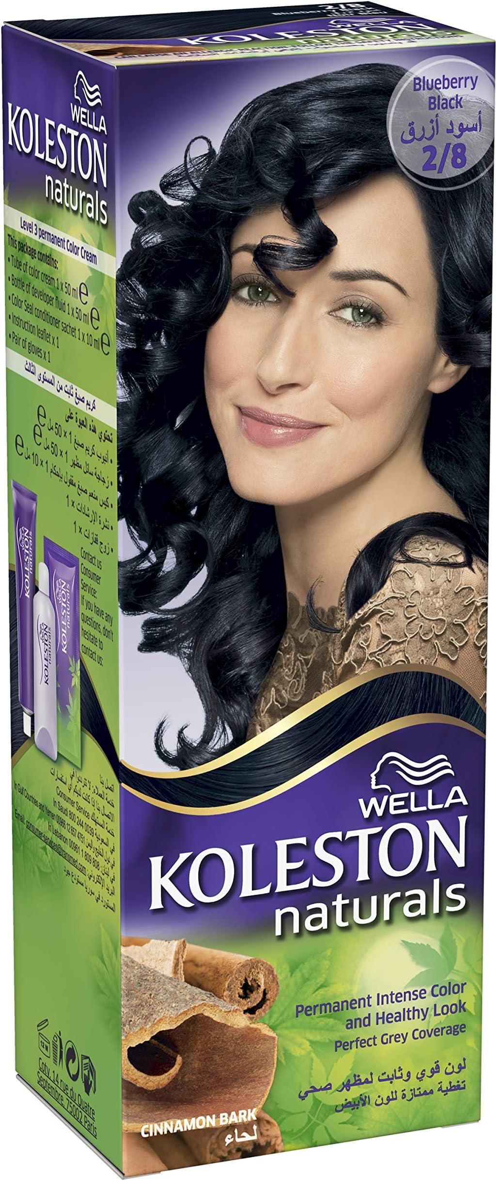 سعر ويلا كوليستون صبغة شعر دائمة أسود مزرق فى الامارات بواسطة امازون الامارات كان بكام