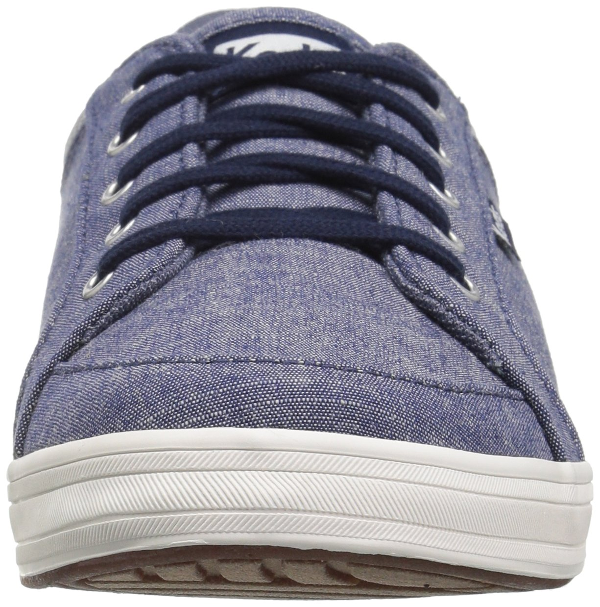 Keds Women's Vollie Ll Chambray Sneaker B072WRGH33 8 B(M) US|Navy