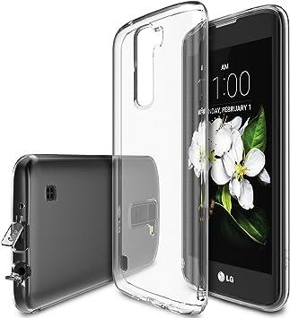Ringke Funda LG K7, [Air] Extrema de Peso Ligero Ultra-Delgado Transparente Suave Flexibles TPU Resistente a arañazos Protector Funda para LG K7: Amazon.es: Electrónica