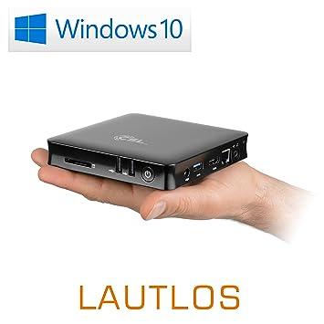 Mini Pc Lautlose Csl Narrow Box 4k Amazonde Computer Zubehör