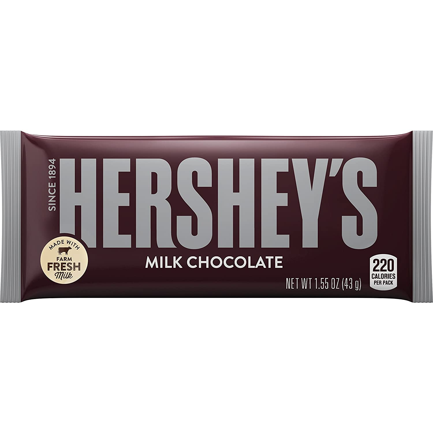 HERSHEY'S Milk Chocolate (Pack of 36)