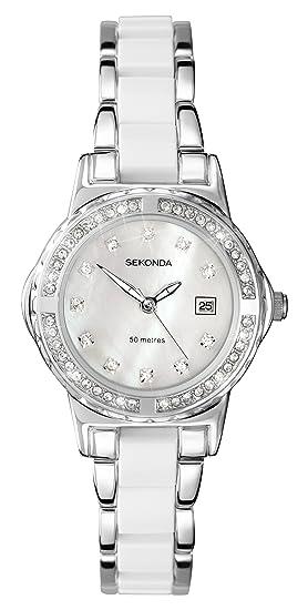 Sekonda Reloj Mujer de Analogico con Correa en Aleación 4674.27: Sekonda: Amazon.es: Relojes