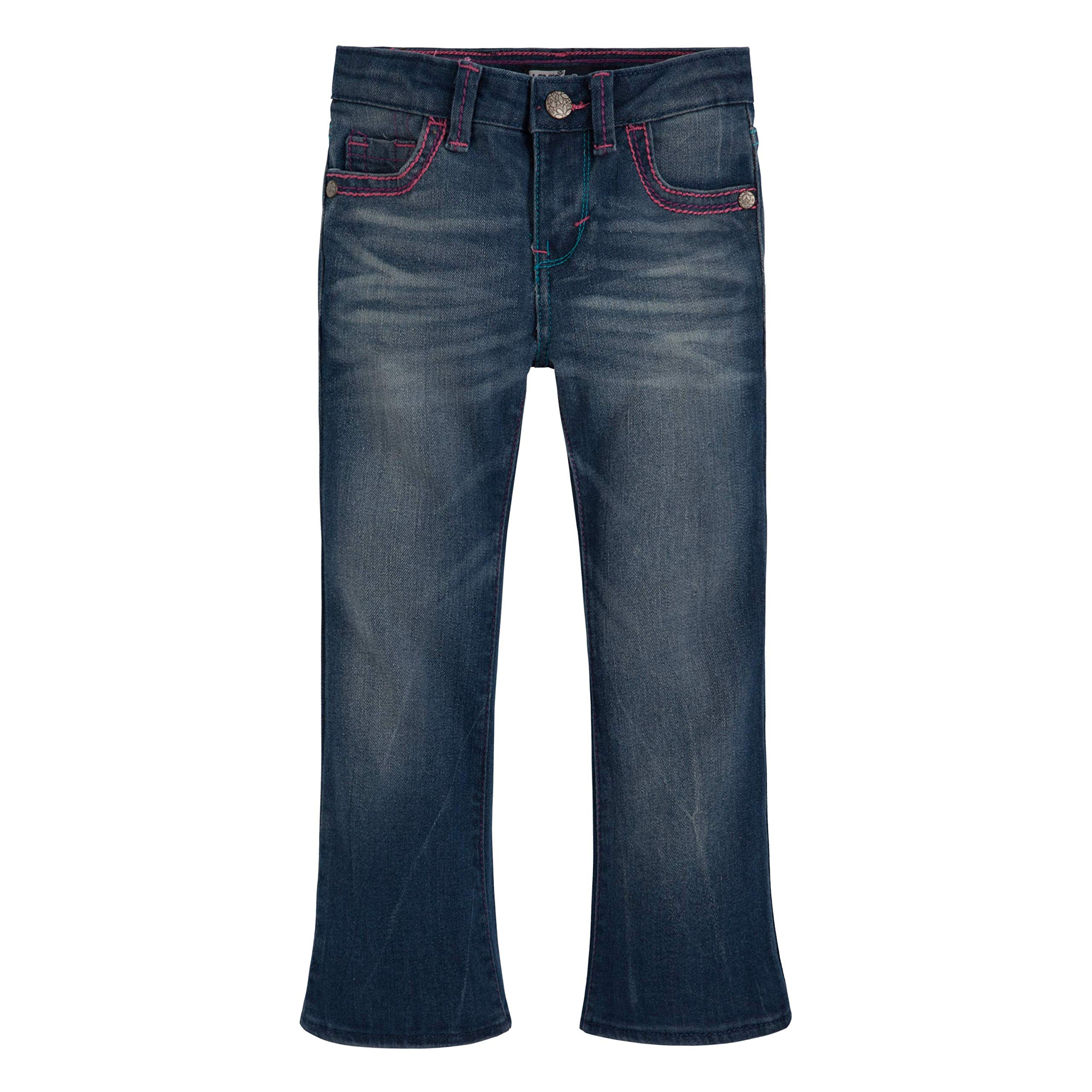 Levi's Girls' Toddler 715 Bootcut Thick Stitch