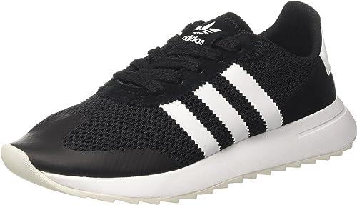 adidas Damen Flashback Sneaker Low Hals, Schwarz, 38 EU