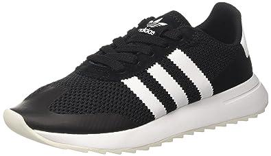adidas Damen Flashback Sneaker Low Hals, Schwarz, 38 EU: Amazon.de ...