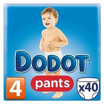 40 Pa/ñales Talla 2 Dodot Pa/ñales con Canales de Aire Beb/é-Seco para Bebes de 4-8 kg