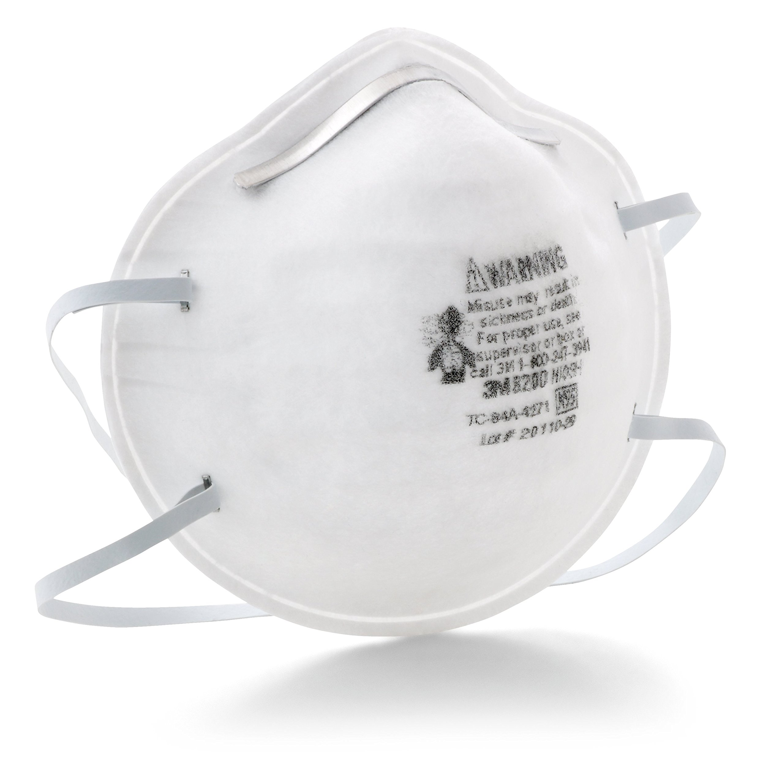3M 8200 Particulate Respirators, 20-Pack