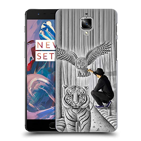quality design 5f042 d95ab Amazon.com: Official Ben Heine Tiger and Owl Pencil Vs Camera Hard ...