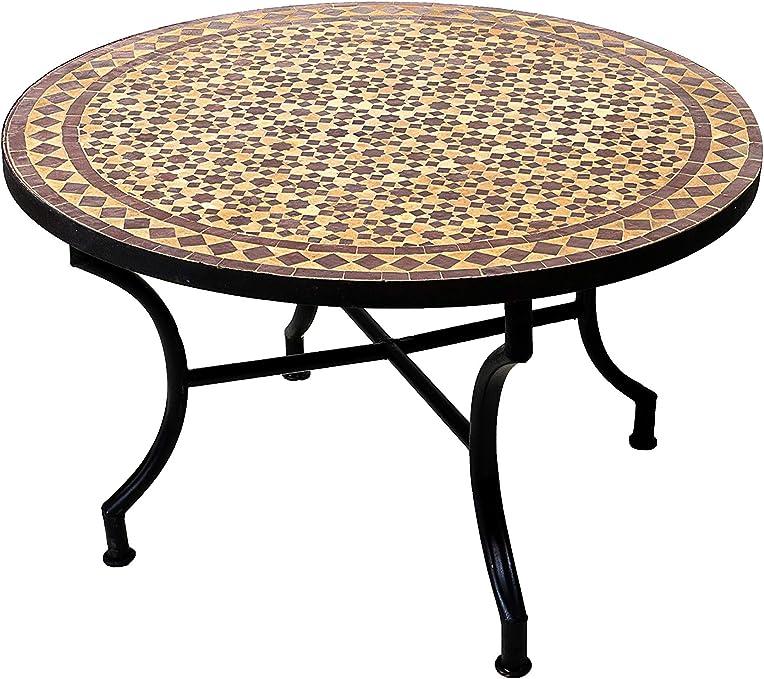Amazon De Nexos Partytisch Rund 150 Cm Klapptisch Gartentisch