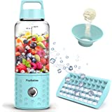 PopBabies Personl Blender, Smoothie Blender for Single Served, USB Rechargeable Portable Blender for Shakes and…