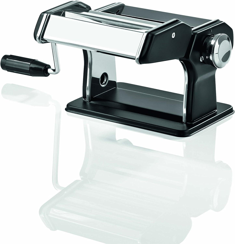 gourmetmaxx 09952 Nudelmaschine Pasta-Profi Nudelherstellung Edelstahl Nudelkurbel Teigroller