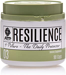 Resilience Immune System Booster Vitamin C Supplement & Health Protector, Anti-Inflammatory and Intestinal Balance Support, Stomach-Friendly, All 100% Natural & Vegan Ingredients, Non-GMO