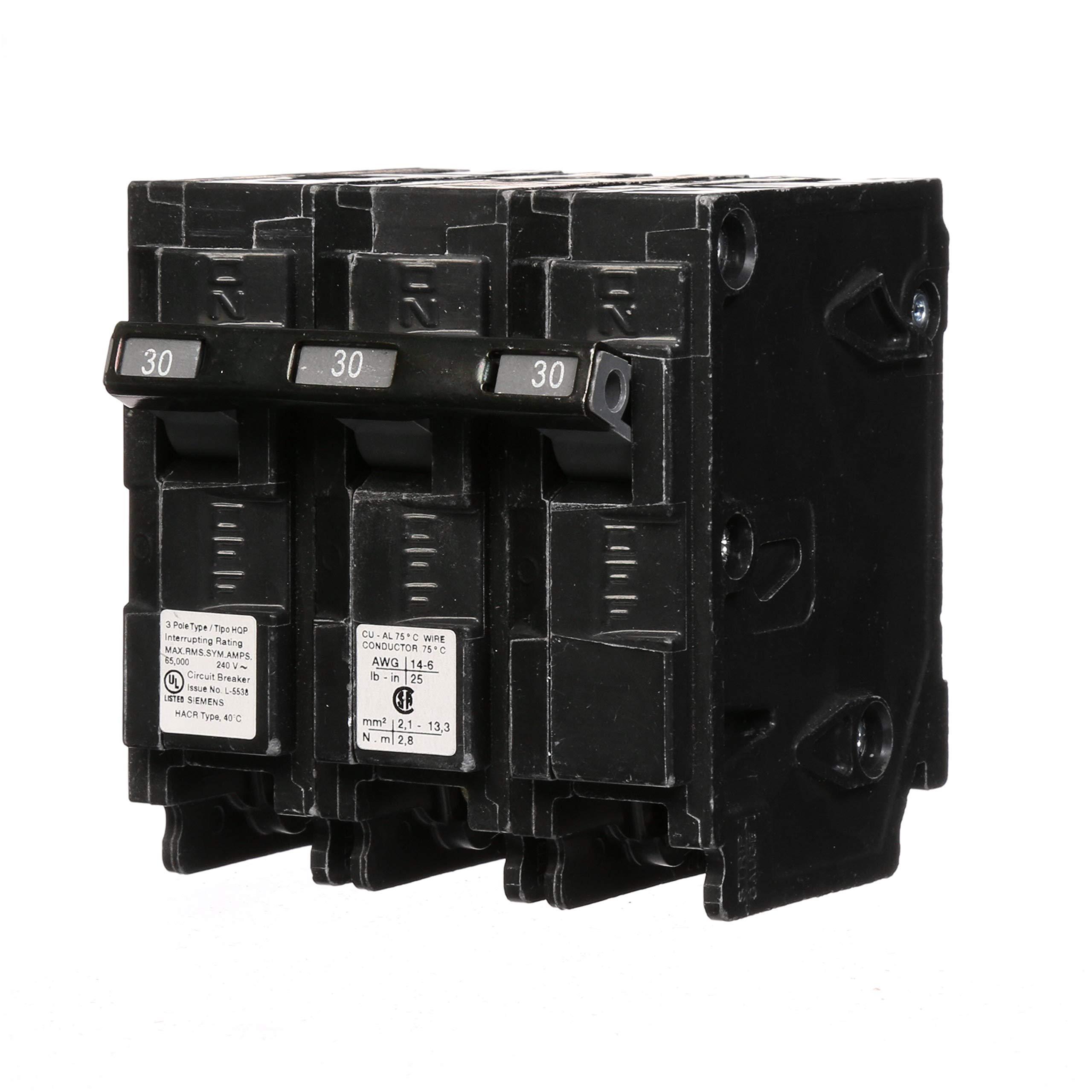 Q330HH 30-Amp Three Pole 65kA Type HQP Circuit Breaker
